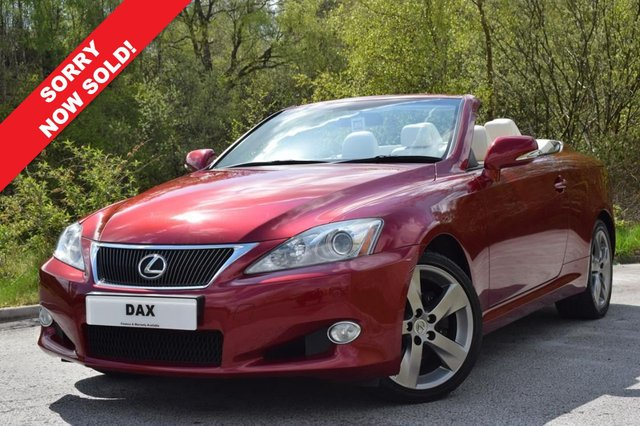 2009 59 LEXUS IS 2.5 250C SE-I 2d AUTO 204 BHP