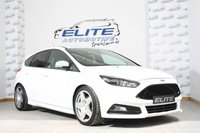 USED 2016 16 FORD FOCUS 2.0 ST-3 5d 247 BHP MOUNTUNE MP 275, MOUNTUNE EXHAUST, EIBACH SPRING KIT, FIFTEEN 52 ALLOYS, DAB NAV, CRUISE CONTROL/ MOUNTUNE ROLL RESTRICTOR