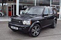 USED 2011 61 LAND ROVER DISCOVERY 3.0 4 SDV6 LANDMARK LE 5d AUTO 245 BHP Full Service History (5 Stamps)