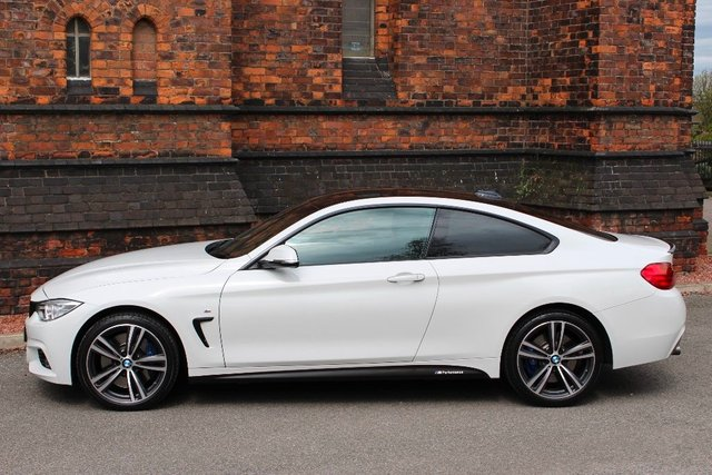 2016 16 BMW 4 SERIES 3.0 435d M Sport xDrive 2dr