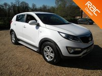 USED 2012 12 KIA SPORTAGE 1.6 1 5d 133 BHP Front + Rear Parking Sensors, Bluetooth
