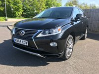 2014 LEXUS RX 3.5 450H LUXURY 5d AUTO 295 BHP £25500.00