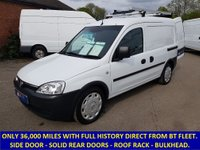 2007 VAUXHALL COMBO 2000 1.3 CDTi Direct From BT With History £3295.00