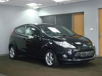 USED 2012 62 FORD FIESTA 1.2 ZETEC 3d 81 BHP ++I POD/AUX CONNECTION+++