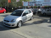 USED 2006 06 FORD FIESTA 1.2 ZETEC 16V 3d 78 BHP FINANCE AVAILABLE FROM £27 PER WEEK OVER TWO YEARS - SEE FINANCE LINK