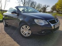 USED 2007 07 VOLKSWAGEN EOS 2.0 FSI 2d GOOD SERVICE HISTORY
