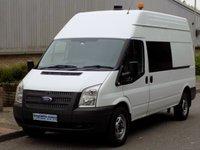 2011 FORD TRANSIT 2.2 RWD 350 LWB HIGH ROOF 125 BHP 6 SPEED £5995.00
