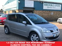 USED 2008 08 RENAULT GRAND MODUS 1.5 DYNAMIQUE DCI 85 BHP Silver Met Pan Roof £30 Road Tax Grand Modus 1.5 DCi £30 road tax Panoramic Sunroof Climate Control FSH inc Cambelt
