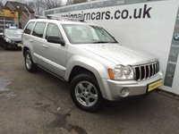 2006 JEEP GRAND CHEROKEE 5.7 V8 HEMI LIMITED 5d AUTO 322 BHP £7995.00