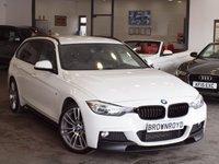 USED 2015 15 BMW 3 SERIES 2.0 320D XDRIVE M SPORT TOURING 5d AUTO 181 BHP M PERFORMANCE KIT+SAT NAV+FSH