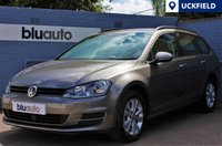 USED 2014 14 VOLKSWAGEN GOLF 1.6 SE TDI ESTATE BLUEMOTION TECHNOLOGY DSG AUTO Full VW History, £20 Tax, 65.7MPG, Adaptive Cruise, Bluetooth, Air Conditioning