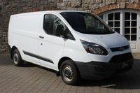 2013 FORD TRANSIT CUSTOM 2.2 270 LR P/V 1d 99 BHP £7750.00