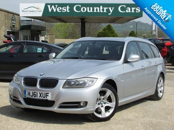 2011 BMW 3 SERIES 2.0 318D EXCLUSIVE EDITION TOURING 5d AUTO 141 BHP £10000.00