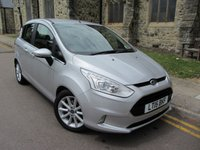 USED 2015 15 FORD B-MAX 1.0 TITANIUM 5d 100 BHP ++ ONLY 14000 MILES ++