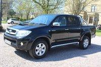 2010 TOYOTA HI-LUX 3.0 INVINCIBLE 4X4 D-4D DCB 1d AUTO 169 BHP £12980.00