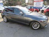 2012 BMW 1 SERIES 1.6 116D EFFICIENTDYNAMICS 5d 114 BHP £8000.00