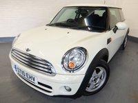 2010 MINI HATCH COOPER 1.6 COOPER D 3d 108 BHP £4690.00