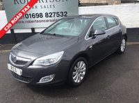 USED 2011 61 VAUXHALL ASTRA 2.0 ELITE CDTI S/S 5dr