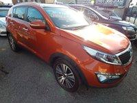 2015 KIA SPORTAGE 2.0 CRDI KX-3 SAT NAV 5d AUTO 134 BHP £16495.00