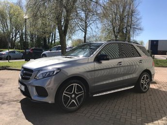 2016 MERCEDES-BENZ GLE-CLASS 2.1 GLE 250 D 4MATIC AMG LINE 5DR AUTO 201 BHP £32591.00