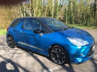 USED 2012 12 CITROEN DS3 1.6 E-HDI DSTYLE PLUS 3d 90 BHP DS3, ONLY 36000 MILES, ROAD TAX £ZERO, DIESEL