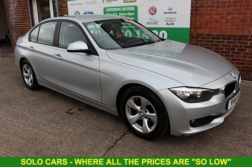 2014 14 BMW 3 SERIES 2.0 320D EFFICIENTDYNAMICS 4d 161 BHP