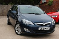 USED 2011 61 VAUXHALL ASTRA 1.6 ELITE 5d 113 BHP **** LEATHER UPHOLSTERY * HEATED SEATS * AIR CONDITIONING ****