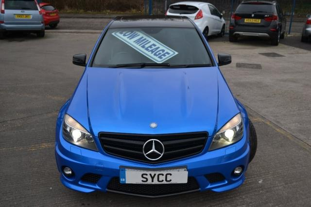 USED 2011 11 MERCEDES-BENZ C-CLASS 6.2 C63 4dr Auto