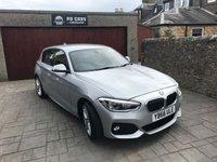2017 BMW 1 SERIES 1.5 116D M SPORT 5d 114 BHP £16650.00