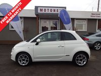 USED 2008 58 FIAT 500 1.2 LOUNGE 3DR 70 BHP+++ONLY £30 ROAD TAX PER YEAR ++++SUMMER SALE NOW ON+++
