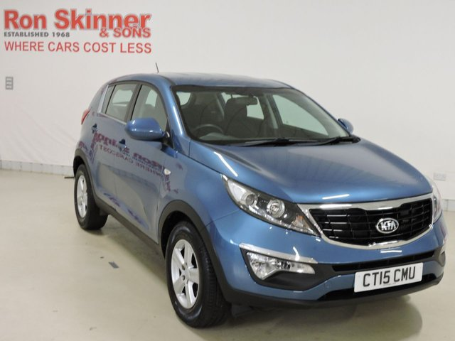 View our 2015 15 KIA SPORTAGE 1.7 CRDI 1 5d 114 BHP