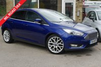 USED 2016 16 FORD FOCUS 1.5 TDCi 120 Titanium X 5dr MASSIVE SPECIFICATION