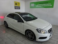 USED 2014 14 MERCEDES-BENZ A CLASS 2.1 A200 CDI AMG SPORT 5d 136 BHP