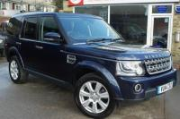 USED 2014 14 LAND ROVER DISCOVERY 4 3.0 SDV6 XS 5dr Auto Full Leather & sat nav