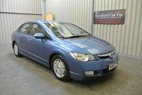 2007 HONDA CIVIC 1.3 IMA ES HYBRID 4d AUTO 115 BHP £3495.00