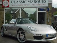 USED 2011 61 PORSCHE BOXSTER 3.4 S 987 2dr PDK SAT NAV HEATED SEATS CHRONO