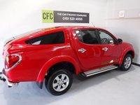 USED 2009 59 MITSUBISHI L200 2.5 4WD RAGING BULL DCB 1d 134 BHP TV / DVD PLAYER, FULL LEATHER TRIM
