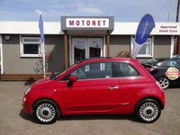 2009 FIAT 500 1.2 LOUNGE 3DR  70 BHP+++ONLY £30 ROAD TAX PER YEAR £4333.00