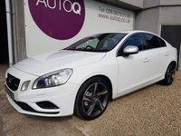 2012 VOLVO S60 2.0 D3 R-DESIGN NAV 4d 134 BHP £9495.00