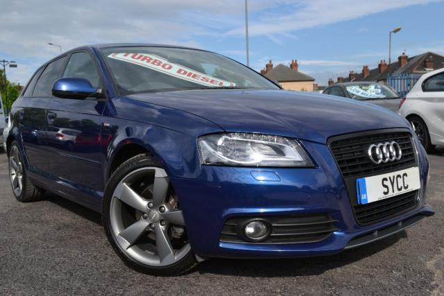 2012 12 AUDI A3 2.0 TDI Black Edition 5dr [Start Stop]