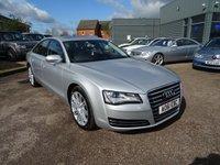 2011 AUDI A8 3.0 TDI QUATTRO SE EXECUTIVE 4d AUTO 250 BHP £16990.00