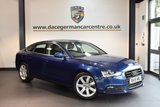 USED 2015 15 AUDI A5 2.0 SPORTBACK TDI S/S 5DR AUTO 148 BHP + FULL AUDI SERVICE HISTORY + BLUETOOTH + DAB RADIO + CRUISE CONTROL + HEATED MIRRORS + 18 INCH ALLOY WHEELS +