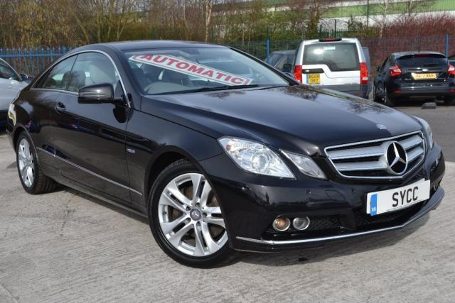 2010 60 MERCEDES-BENZ E CLASS 3.0 E350 CDI BlueEFFICIENCY SE 2dr Tip Auto