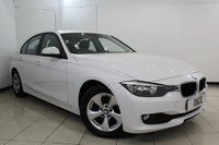 USED 2013 63 BMW 3 SERIES 2.0 320D EFFICIENTDYNAMICS 4DR 161 BHP SERVICE HISTORY + BLUETOOTH + PARKING SENSOR + CRUISE CONTROL + MULTI FUNCTION WHEEL + CLIMATE CONTROL + 16 INCH ALLOY WHEELS