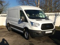 2014 FORD TRANSIT 350 FWD 2.2 125 BHP TREND SHR L3 H2 ***CHOICE OF 70 VANS*** £8250.00