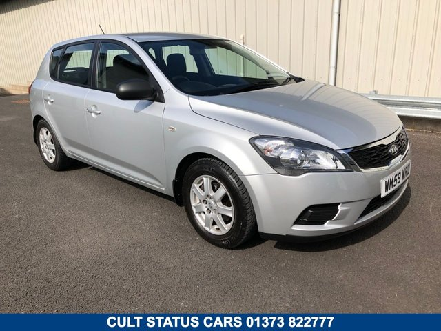 2010 59 KIA CEED 1.4 PETROL MANUAL 89 BHP 5 DOOR