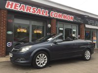 USED 2009 09 VAUXHALL ASTRA 1.9 TWIN TOP SPORT 3d 150 BHP