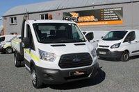 2015 FORD TRANSIT 2.2 350 C/C DRW 1d 124 BHP £13950.00