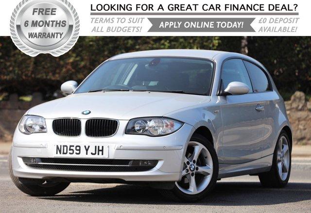 2010 59 BMW 1 SERIES 2.0 116I SPORT 3d 121 BHP