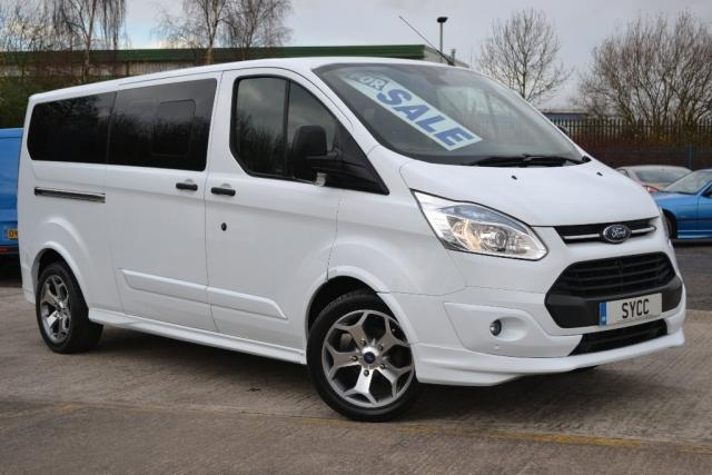 2015 65 FORD TOURNEO CUSTOM 2.2 TOURNEO CUSTOM 300L ZETEC TDCI 9 SEATS M SPORT